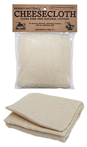 Regency Wraps Natural Ultra Fine Cheesecloth 100% Cotton
