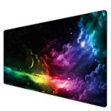 Benvo Extended Mouse Pad Large Gaming Mouse Pad- 35.4x15.7x0.12 inch Computer Keyboard Mouse Mat...