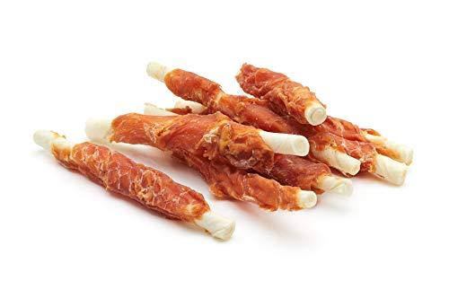 Frigera Snack Perro Palitos de Piel de Buey Enrollados con Pollo...