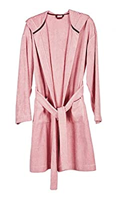 This bathrobe is luxurious & Eco-friendly, making you warm and cozy after bath, pool or beach Natural resistance to mildew and mold. Deodorizing. Hypoallergenic Pile with 55% hemp mixed 45% organic cotton GOTS certified yarn. Imported (Made in Korea)...