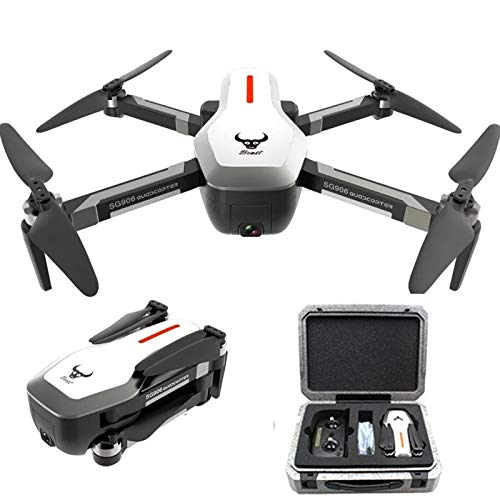 ETbotu Drone, ZLRC Beast Drone SG906 5G Wifi FPV Drone con fotocamera 4K e valigia EPP 3 batterie