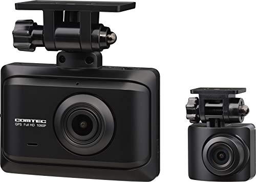 コムテック ドライブレコーダー ZDR016 前後2カメラ 前後200万画素 FullHD GPS搭載 後続車両接近お知らせ機...