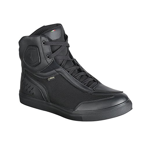 Dainese-STREET DarkER GORE-TEX Zapatos, Negro, Talla 41
