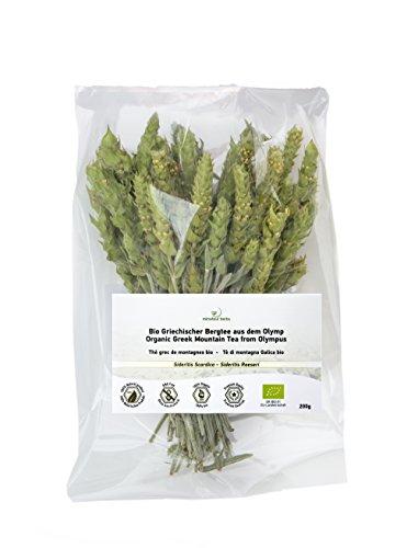 Minotaur Herbs | Bio Griechischer Bergtee aus dem Olymp 200g | Premium Qualität aus kontrolliert biologischem Anbau