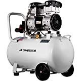 VEVOR Air Compressor 15.8 Gallon, Portable Air Compressor 2 HP, Oil Free Air Compressor Steel Tank 1500W, Pancake Air Compressor 130 PSI, Ultra Quiet Compressor for Home Repair, Tire Inflation