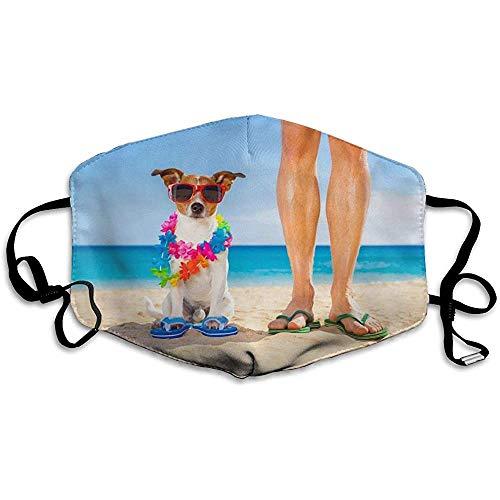 Jack Russell Maschera per cani Maschera per maschera Maschera per la bellezza Maschera lavabile Lavabile e riutilizzabile con fascia elastica per uomo e donna per tutte le età