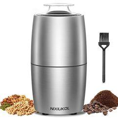 Edelstahl Kaffeemühle Elektrische Gewürzmühle 200W
