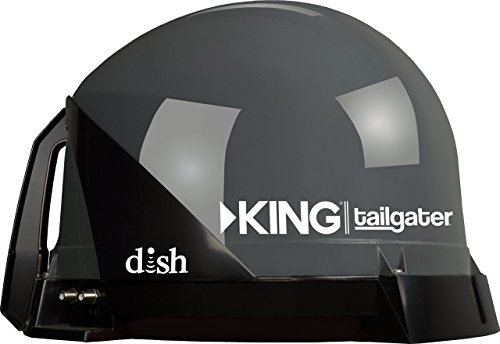 KING VQ4500 Tailgater Portable/Roof Mountable Satellite TV Antenna (for use with DISH)