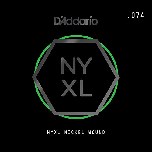 D'Addario NYNW074 NYXL Nickel Wound Electric Guitar Single String