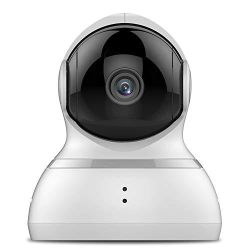 YI Telecamera Sorveglianza 1080p Interno Ip Camera Wifi Compatibile con Alexa,Notifiche push in tempo reale,Copertura a 360°in FHD,Funzioni Personalizzate Auto Crociera,Segnalibri per iOS,Android