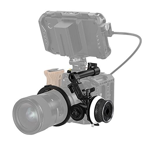 SMALLRIG Mini Follow Focus Controllo Dello Zoom per Fotocamere DSLR/Mirrorless, Compatibile con Lenti di Varie Dimensioni - 3010