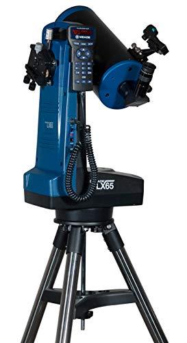Meade Instruments LX65 telescopio Maksutov Cassegrain de 6 Pulgadas con tecnología AudioStarTM Goto