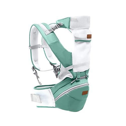 SONARIN 3 in 1 Multifunzione Hipseat Baby Carrier, Portantina per beb, Ergonomico,Marsupio,Supporto...