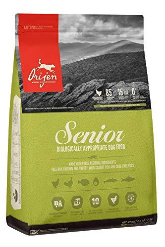 ORIJEN Senior Dry Dog Food, Grain Free, High...