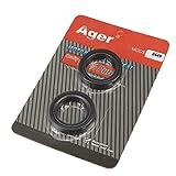 Ager フロントフォーク オイルシール 32x44x10.5mm 汎用 小排気量 GN125 GS125 SR250 KE175 DT125