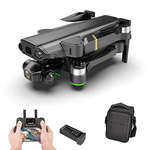 UAUA Drone con doppia fotocamera per adulti, 8 K+1080 P Quadcopter per principiante, motore brushless, 5 GHz di trasmissione per principiante 1 batteria