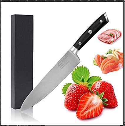 LEHONG Coltelli da Cucina, Coltelli da Chef, Coltello da Cuoco Professionale 20 cm, Coltello da...