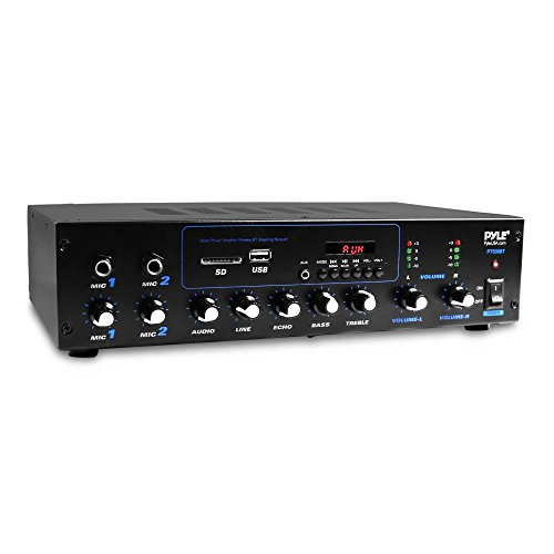 Pyle Professional Powered Amplifier &...