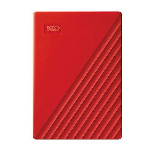 WD My Passport Hard Disk Portatile con Protezione Tramite Password e Software di Backup Automatico,...