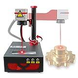 DATOU BOSS Fiber Laser Marking Machine RAYCUS 20W Fiber Laser Engraver Laser Engraving for Jewery,Metal,Acrylic, Leather,PVC,ABS Fiber Laser Marker,Engraving Machine,Lens 110×110mm,110V