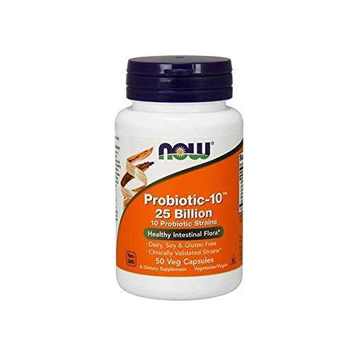 Now Foods Probiotic-10, 25 Billion - 50 Capsules