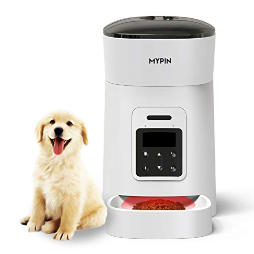 MYPIN Alimentador Inteligente para Perros y Gatos, Comederos...