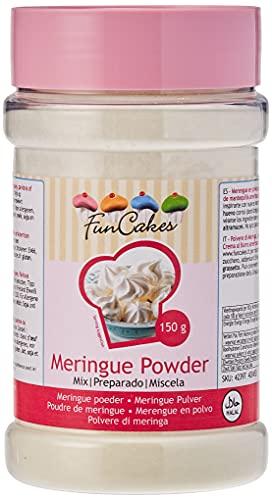FunCakes Baiserpulver, Meringues, Pavlova und amerikanische Buttercreme leicht zubereiten, nur Wasser hinzufügen! Halal. 150 g.