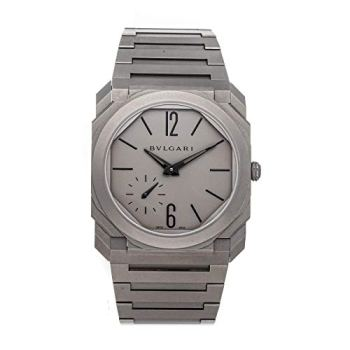 Bulgari Octo Mechanical (Automatic) Grey Dial Mens Watch 102713 (Certified Pre-Owned)