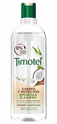 Timotei - Champú Coco Y Aloe Vera (400 ml)