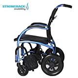 Strongback Mobility- Lightweight- STRONGBACK Excursion 12 Wheelchair, Regular 18' seat, 12' Rear Wheels