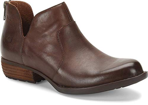 Most Comfortable Bootie For Women For Walking, Travel, Work, Street Style Born Parisian Style Dark Brown Boots Paris Chic Style 6