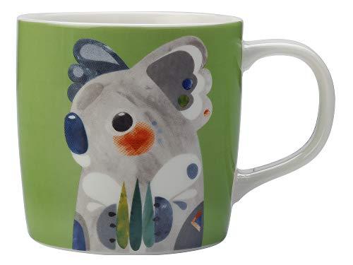 Maxwell Williams DI0215 Pete Cromer - Taza de café y té, porcelana, Koala., 375 ml