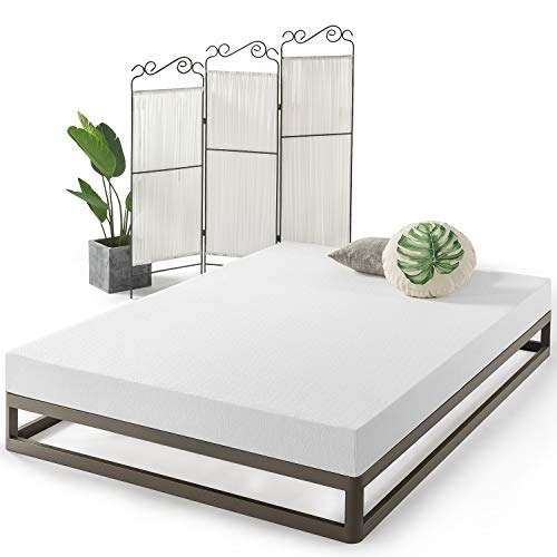 Best Price Mattress Queen Mattress - 6 Inch Air Flow Memory Foam Bed Mattresses Infused with Green Tea, Queen Size