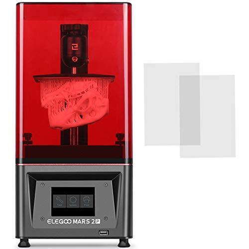 ELEGOO Mars 2 Pro Impresora 3D Mono MSLA Impresora 3D de Res