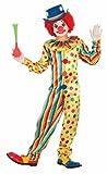 Forum Novelties Kids Spots The Clown Costume, Multicolor, Large