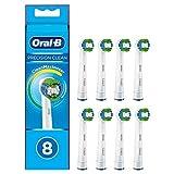 Oral-B Precision Clean Aufsteckbürsten mit CleanMaximiser-Borsten für eine optimale Reinigung, 8Stück