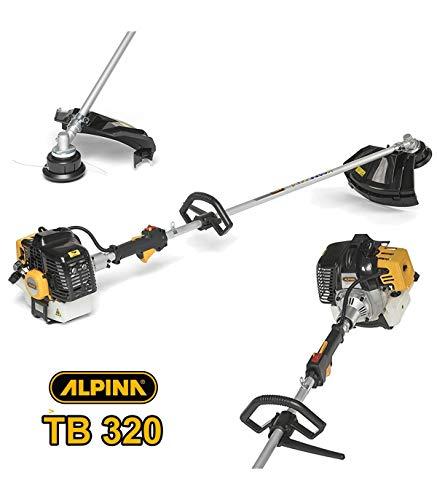 AlpinaTrade - DECESPUGLIATORE TAGLIABORDI Alpina TB320 Motore A Scoppio 2 Tempi 32 CC TB 320