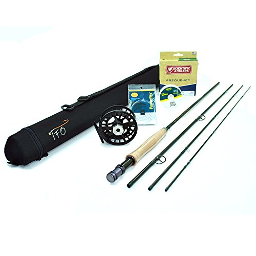 "TFO BVK Fly Rod Outfit (5wt, 9'0"", 4pc) w/Lamson Remix Fly Reel"