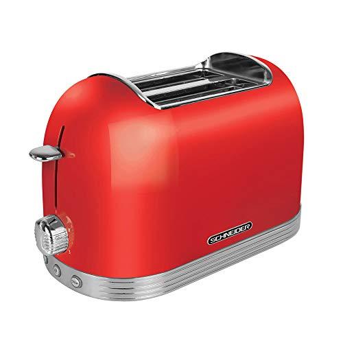 Schneider Comsumer SL T2.2 FR tostapane 2 fetta/e Rosso 850 W