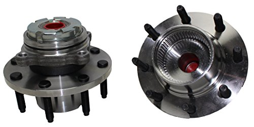 Detroit Axle 515021 Front Wheel Hub & Bearing Assembly for 1999-2004 Ford F-250 F-350 Super Duty 4x4 without ABS