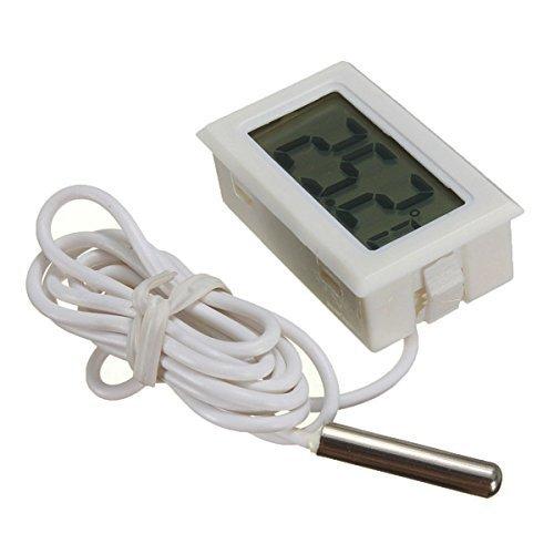 ARCELI Termometro digitale LCD Monitoraggio della temperatura con sonda esterna per frigorifero...