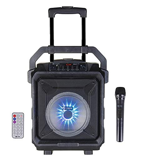 Zoook Rocker Thunder XL 50 watts Trolley Karaoke Bluetooth Party Speaker with Remote, Built-in...