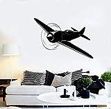 Pegatinas de vinilo para pared Piloto de avión   Pegatinas de pared para cocina y comedor Decoración de vinilo para el hogar