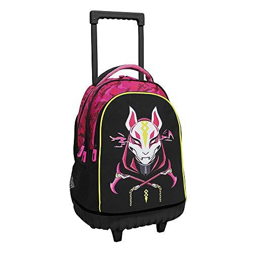 Toy Bags Mochila con Trolley Compacto, Unisex niños, Multicolor, 32.5X43X13.5