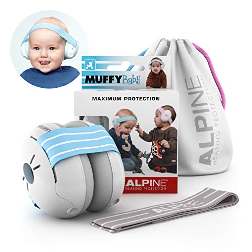 Hearing Protection Baby Earmuffs by Alpine