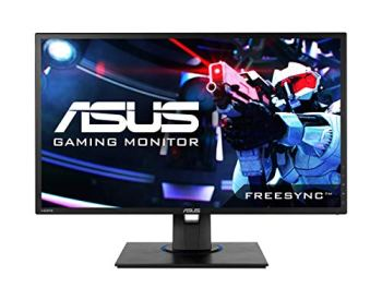 ASUS VG245HE 24' Full HD 1080p 1ms Dual HDMI Eye Care Console Gaming Monitor with FreeSync/Adaptive Sync, Black