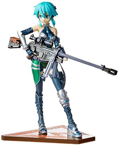 Action figure sword art online fatal bullet sinon bandai banpresto multicor