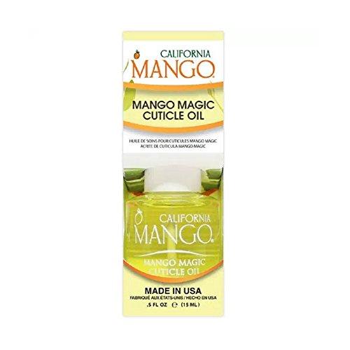 California Mango Mango Magic Cuticle Oil .5 Fl Oz/ 15 Ml, 0.5 Oz