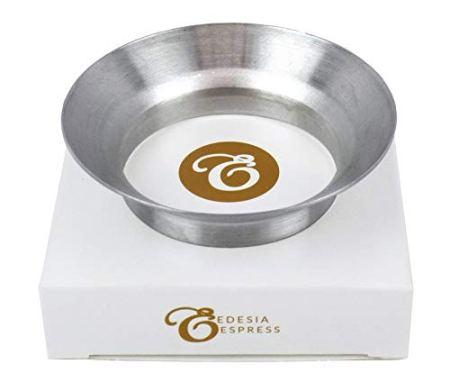 Fülltrichter für Kaffeemühle - gegen Streuverluste - rund - für Siebträger mit 51 mm Durchmesser