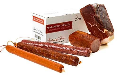 Jamón Serrano Curado Deshuesado 1 kg + Lomo Duroc Natural 2